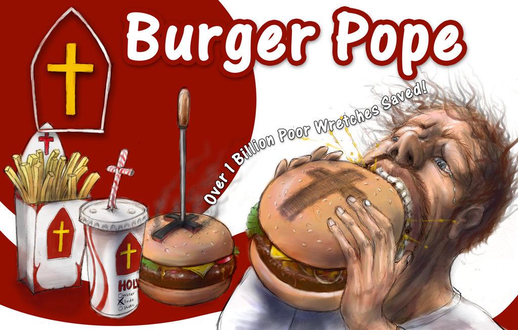 Burger Pope