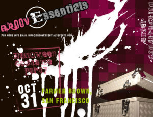 groovessentials halloween flyer
