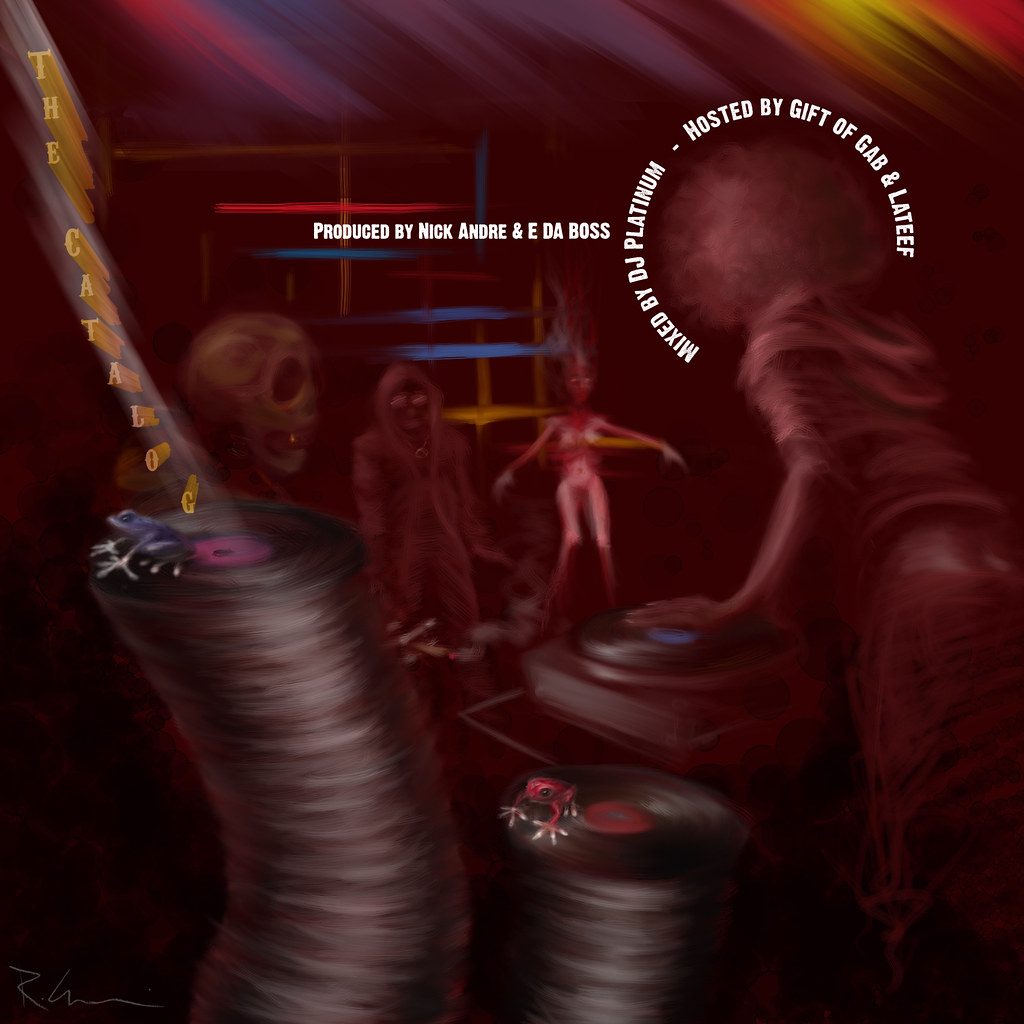 the catalog cd cover
